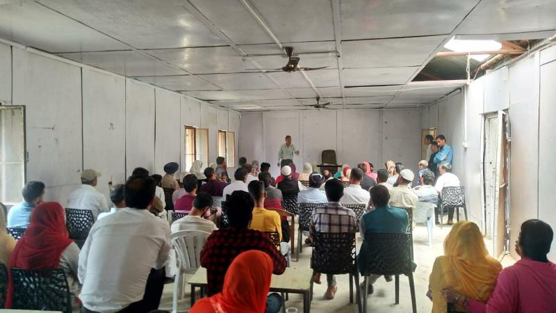 A Parent Teacher Meet was held Today on 6th July 2019 to discuss the Term Ist performance of students with their parents.  It was a great interaction between the teachers and the parents for the development of their children where they discussed both the strengths and areas of improvements. The progress report for the first term was shown to the parents and their suggestions and grievances were also noted by our worthy Principal Sir. The PTM came to an end with the conclusion that the progress of the students depends on the joint effort of parents and teachers. At Last cold drinks were served to our respected Guests.  The motive of the Meeting was to put the joint efforts so that we can address the problems and overcome them accordingly. It was an important step to provide Quality education to our students. As feedback plays an important role in it